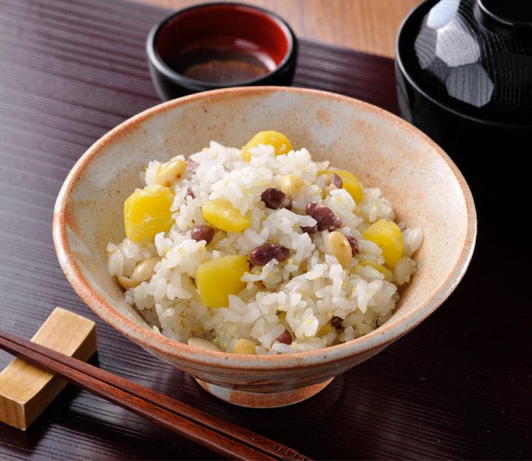 奈良茶飯風 おこわ